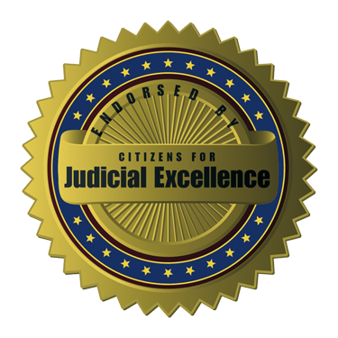 CJE Judicial Endorsement Seal