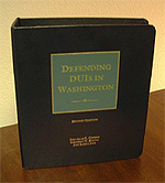 "Photo of ""Defendings DUIs in Washington"" book"